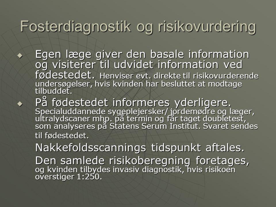 Fosterdiagnostik og risikovurdering
