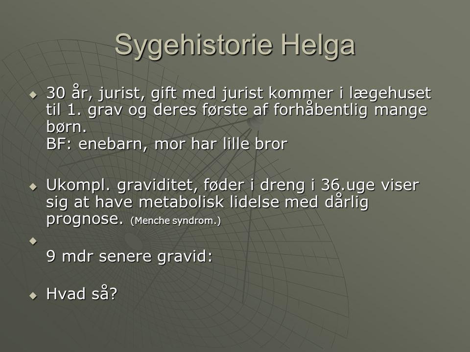 Sygehistorie Helga