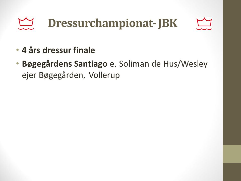 Dressurchampionat- JBK