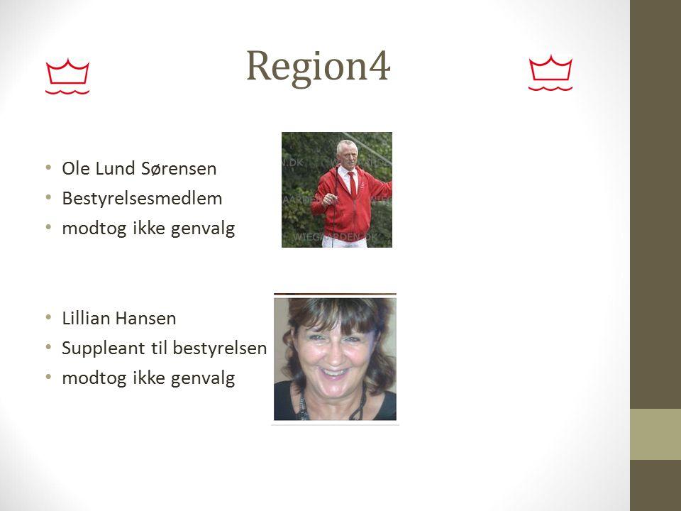 Region4 Ole Lund Sørensen Bestyrelsesmedlem modtog ikke genvalg