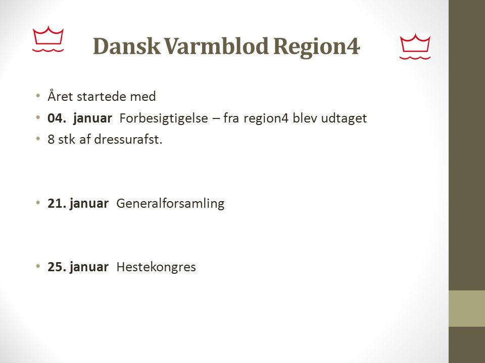 Dansk Varmblod Region4 Året startede med