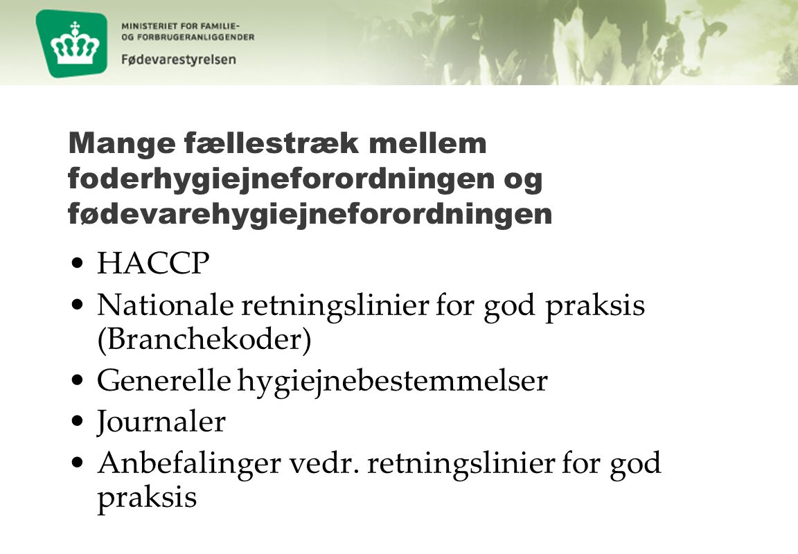 Nationale retningslinier for god praksis (Branchekoder)