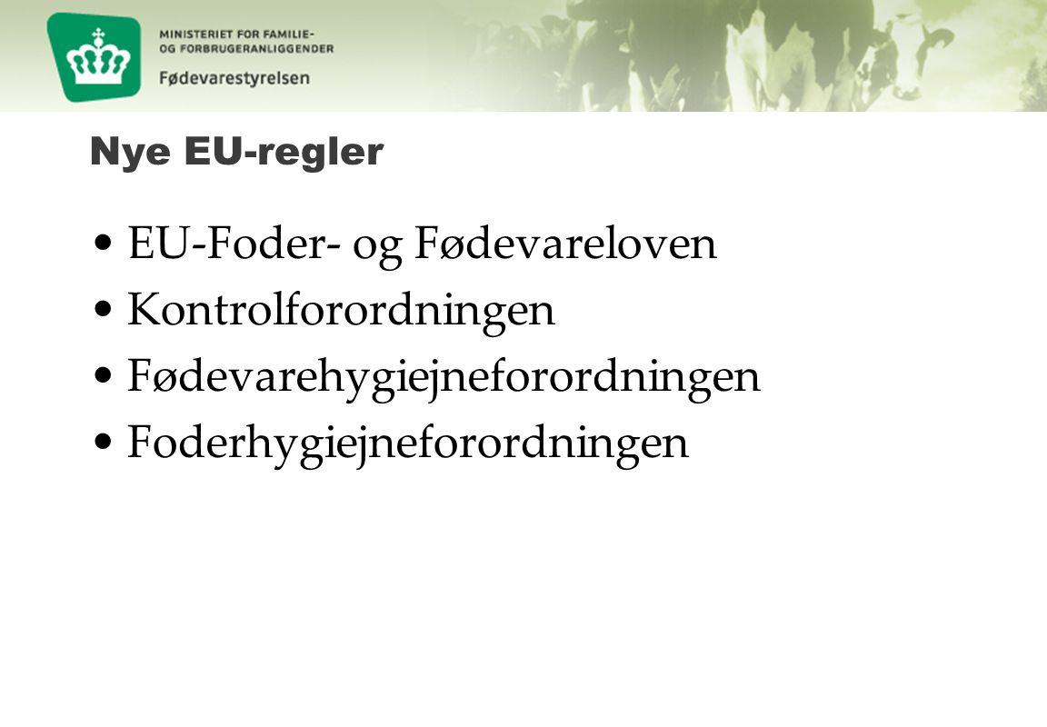 EU-Foder- og Fødevareloven Kontrolforordningen