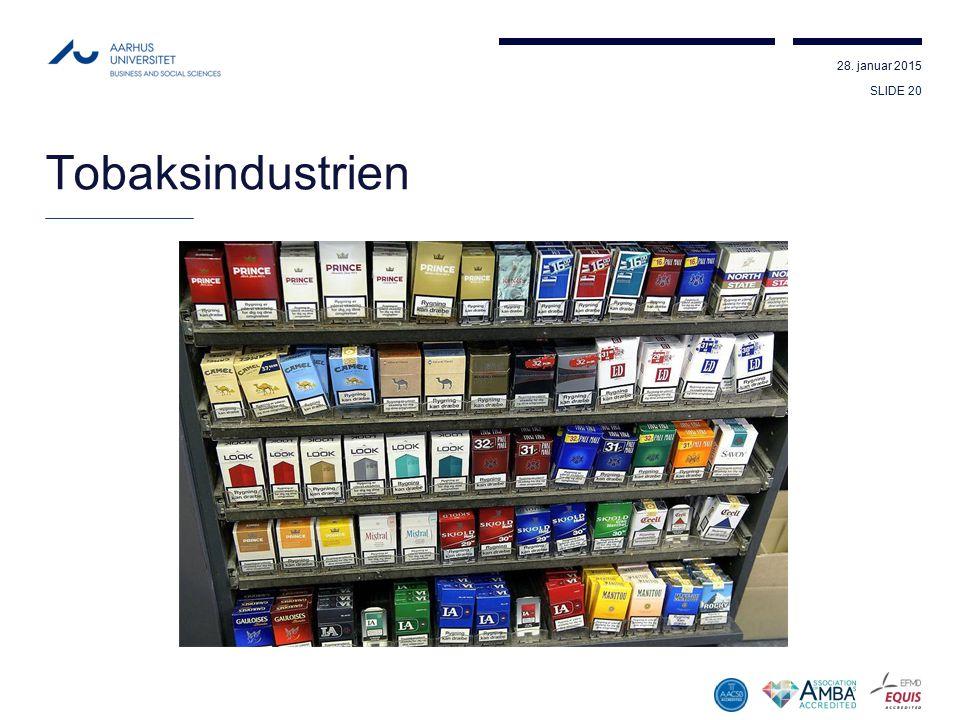 Tobaksindustrien