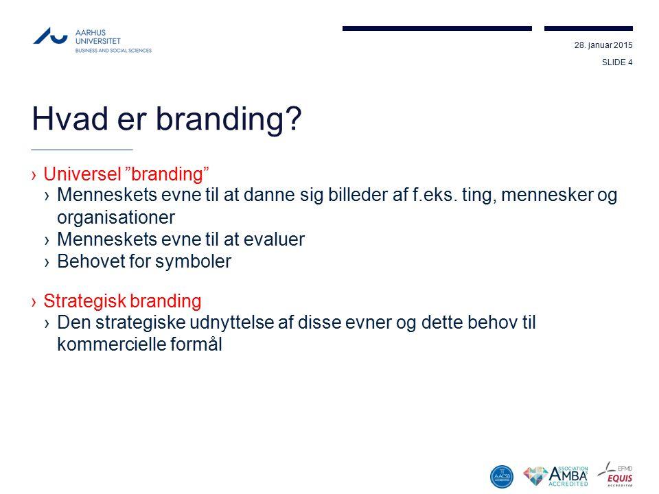 Hvad er branding Universel branding