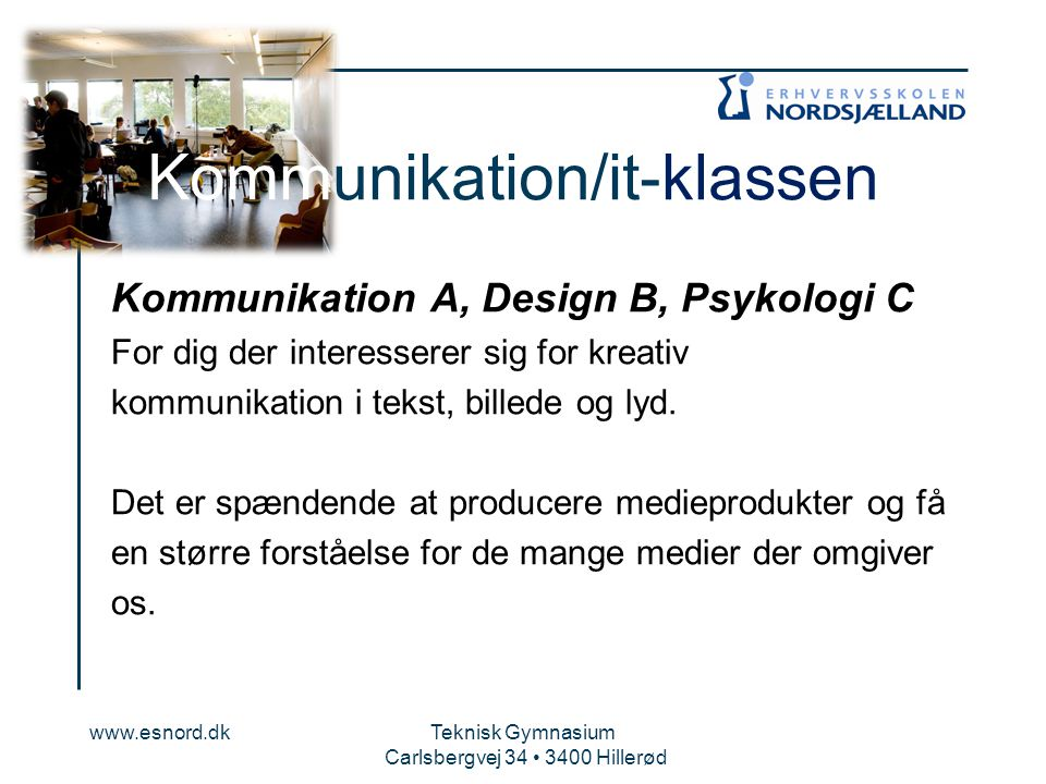 Kommunikation/it-klassen