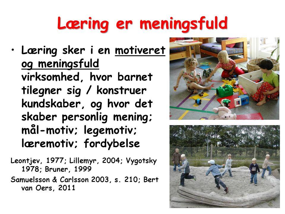 Læring er meningsfuld