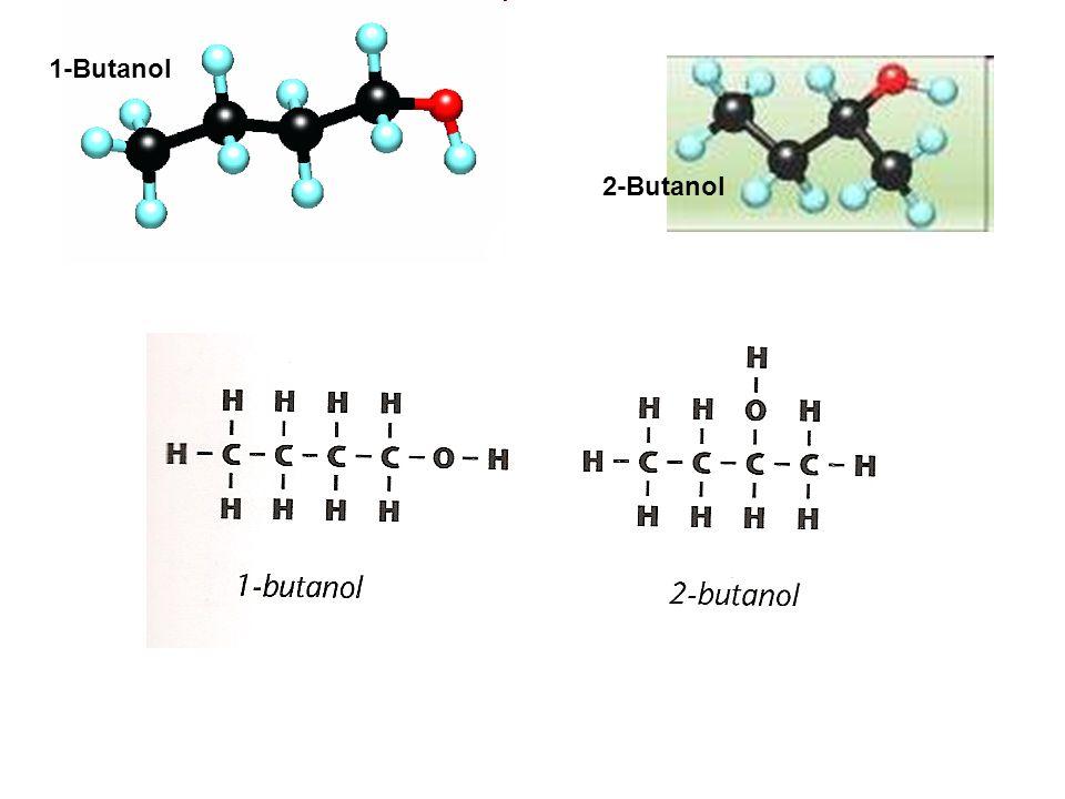 1-Butanol 2-Butanol