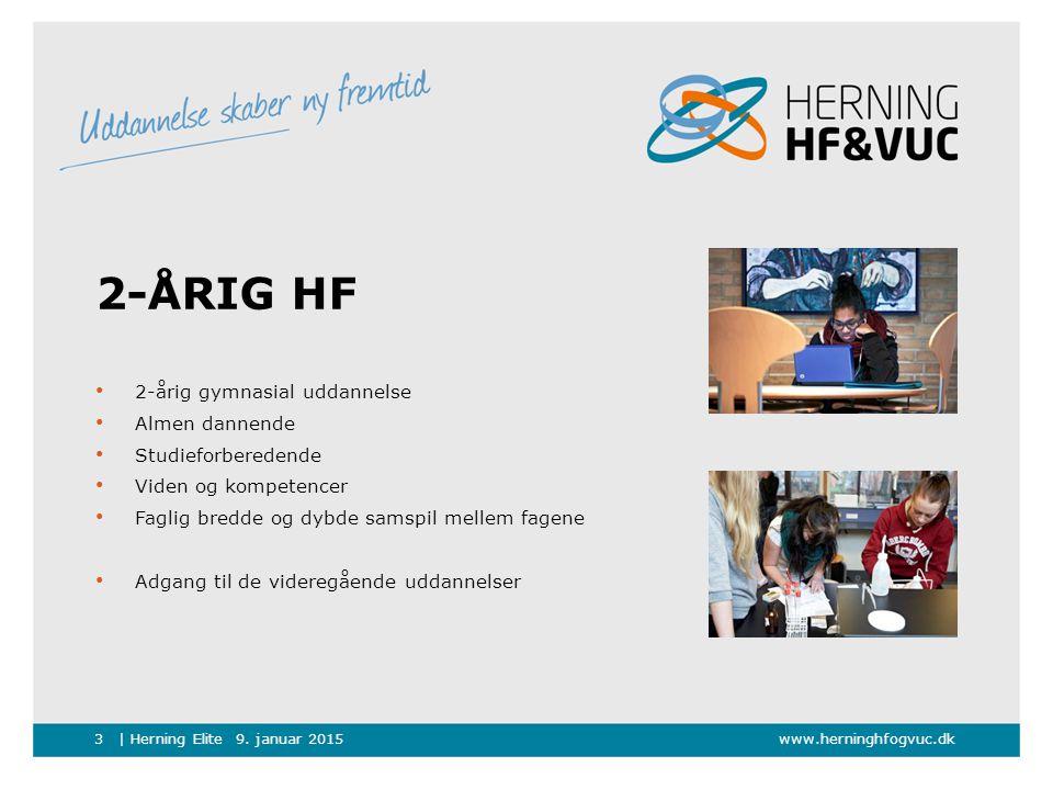 2-årig HF 2-årig gymnasial uddannelse Almen dannende