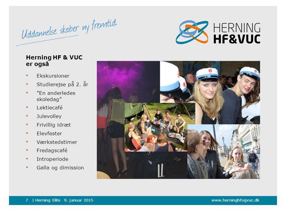 Herning HF & VUC er også Ekskursioner Studierejse på 2. år
