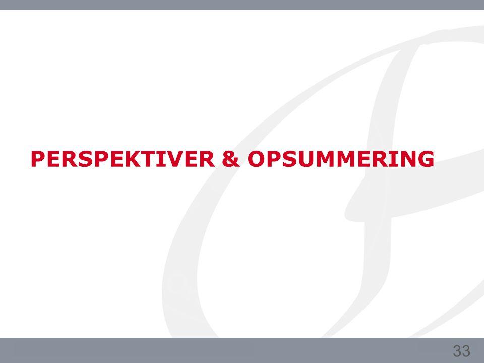 PERSPEKTIVER & OPSUMMERING