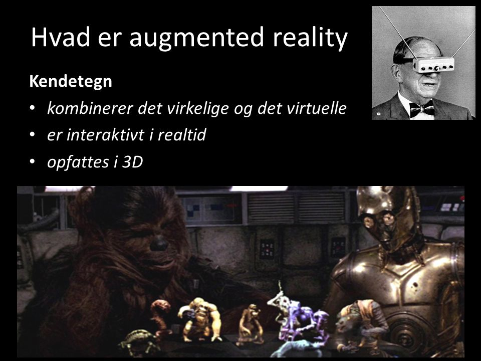 Hvad er augmented reality