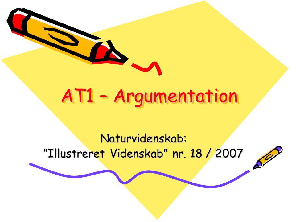 Naturvidenskab: Illustreret Videnskab nr. 18 / 2007