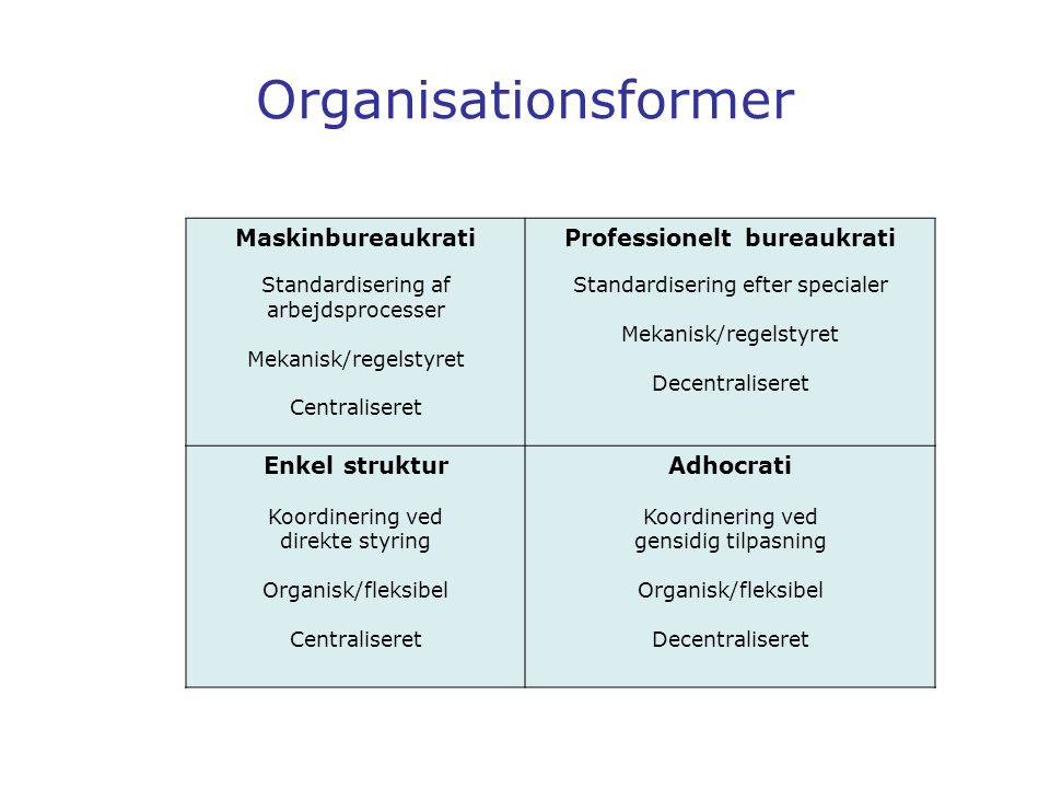 Professionelt bureaukrati