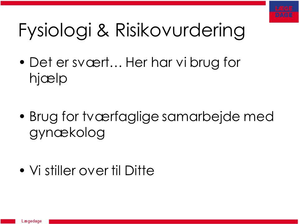 Fysiologi & Risikovurdering