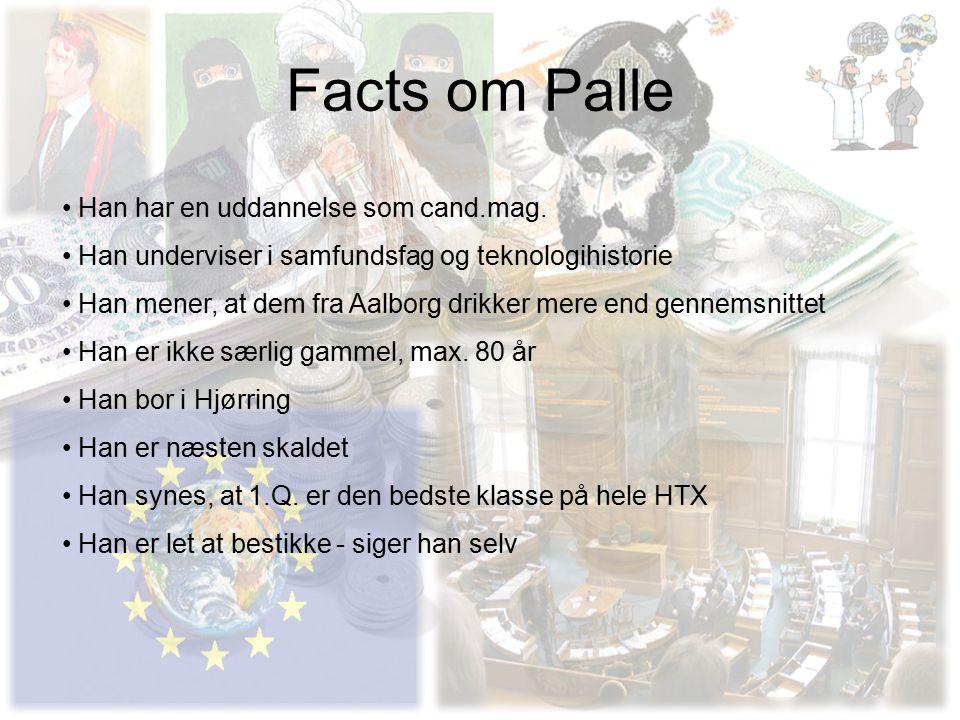 Facts om Palle Han har en uddannelse som cand.mag.