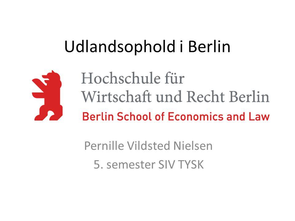 Udlandsophold i Berlin