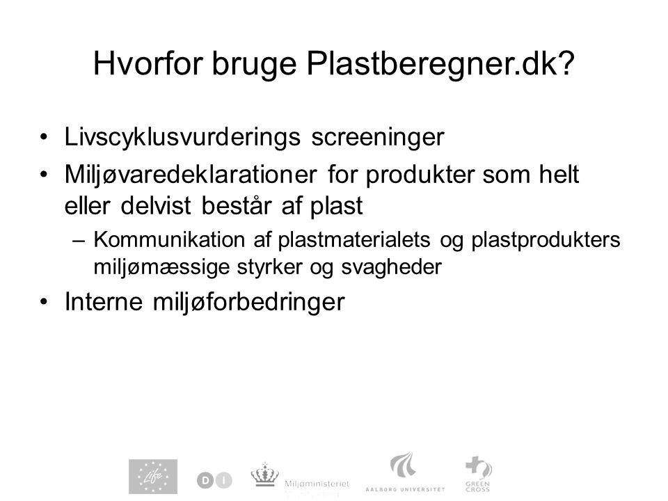 Hvorfor bruge Plastberegner.dk