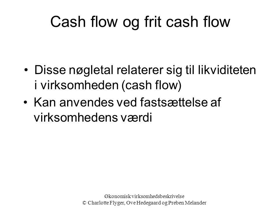 Cash flow og frit cash flow