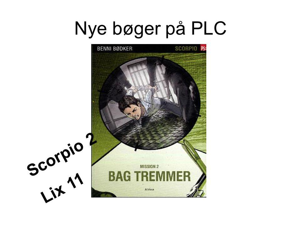 Nye bøger på PLC Scorpio 2 Lix 11