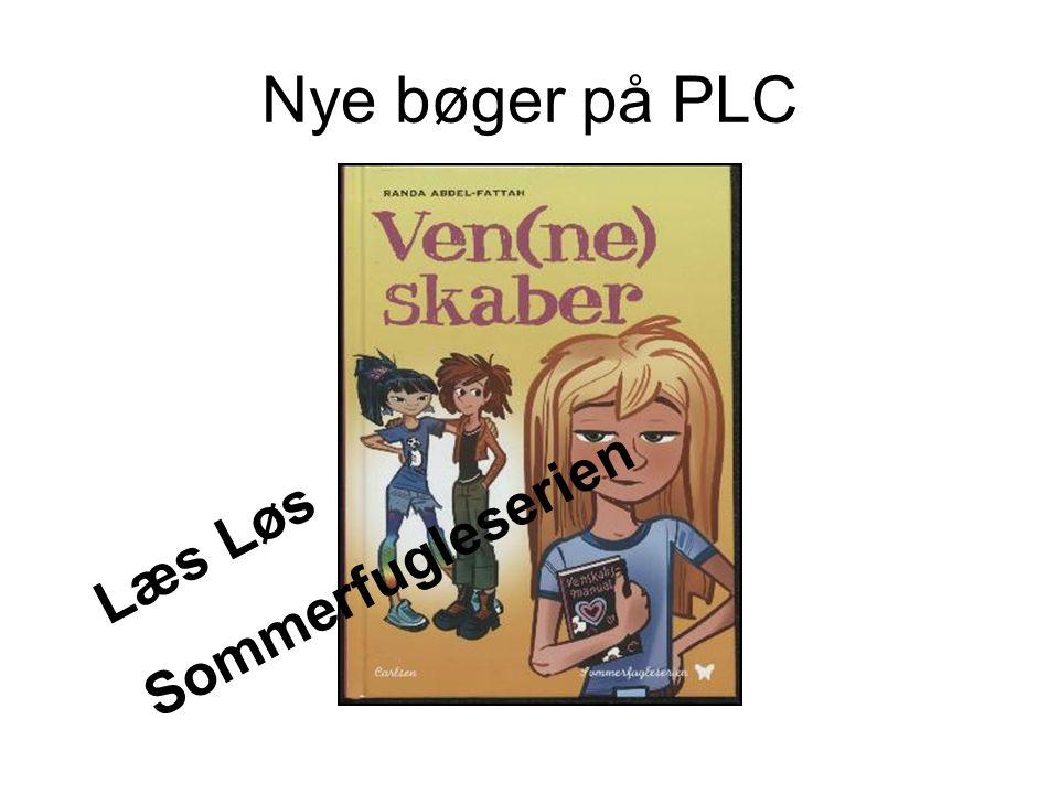 Nye bøger på PLC Sommerfugleserien Læs Løs