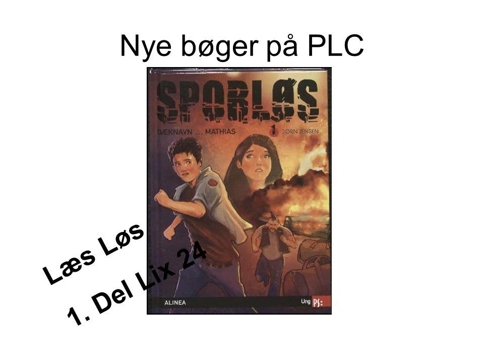 Nye bøger på PLC Læs Løs 1. Del Lix 24