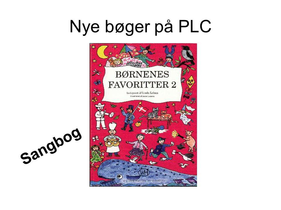 Nye bøger på PLC Sangbog