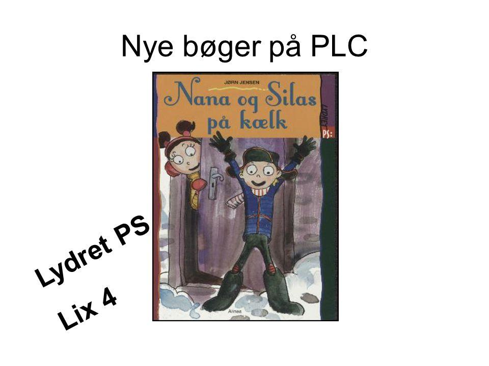 Nye bøger på PLC Lydret PS Lix 4