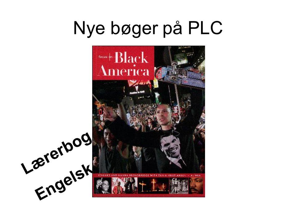 Nye bøger på PLC Lærerbog Engelsk