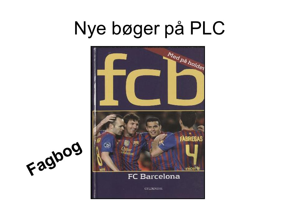 Nye bøger på PLC Fagbog