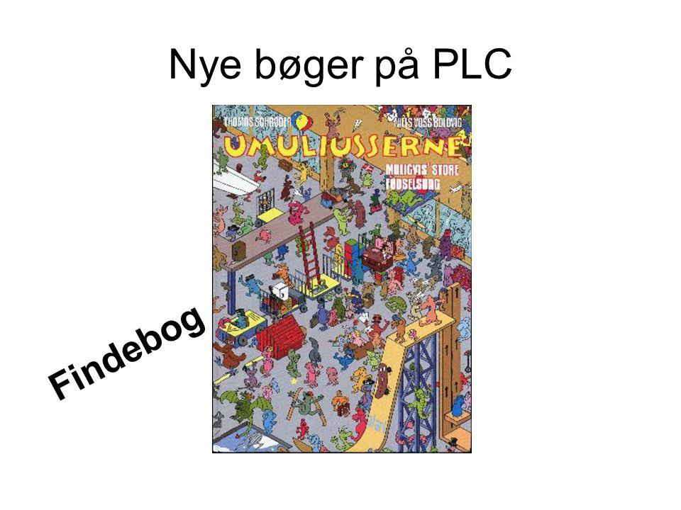 Nye bøger på PLC Findebog