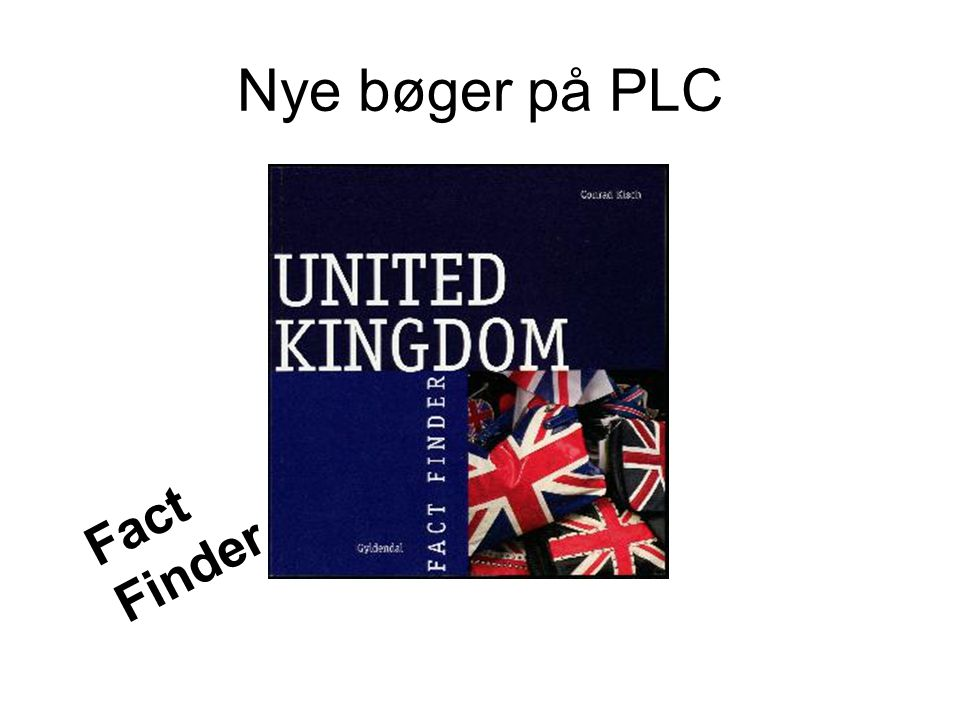 Nye bøger på PLC Fact Finder