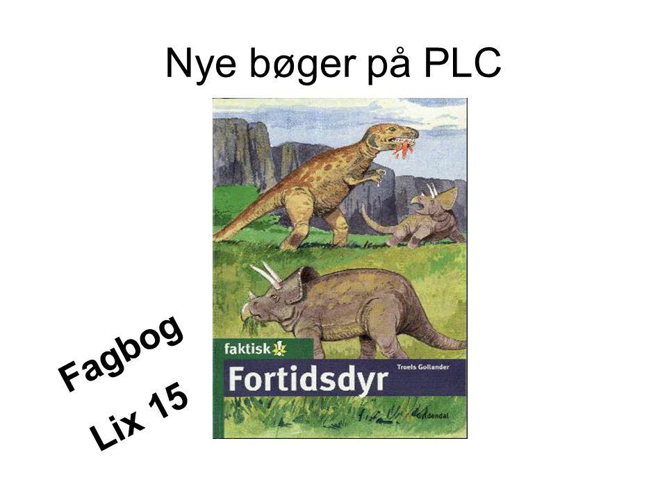 Nye bøger på PLC Fagbog Lix 15