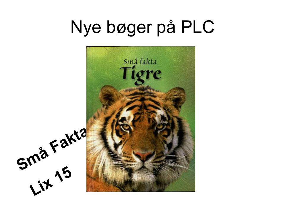 Nye bøger på PLC Små Fakta Lix 15