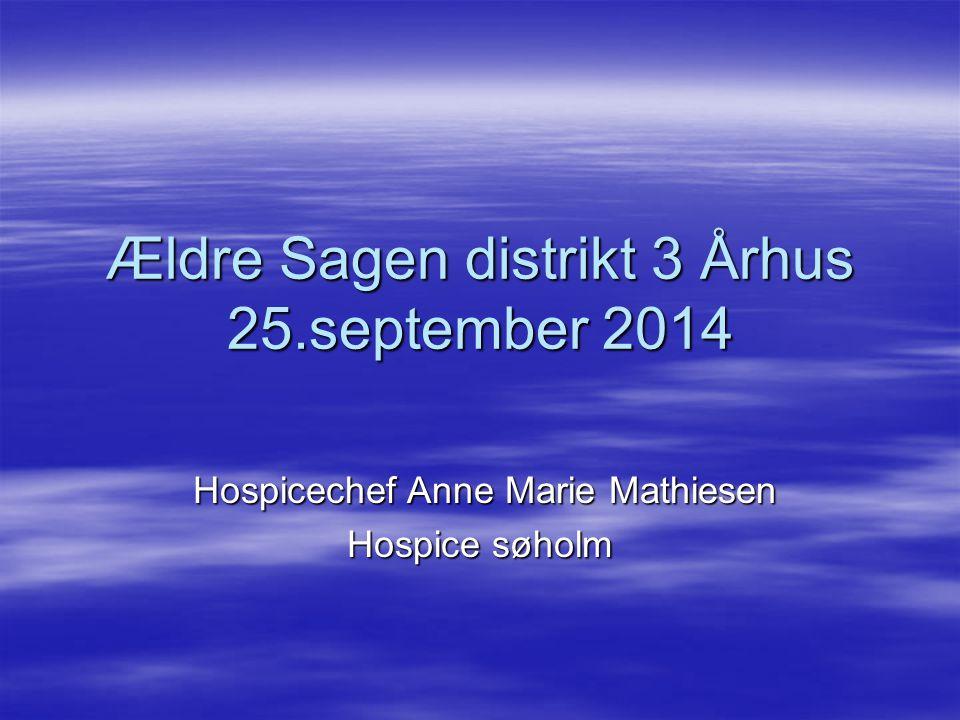 Ældre Sagen distrikt 3 Århus 25.september 2014
