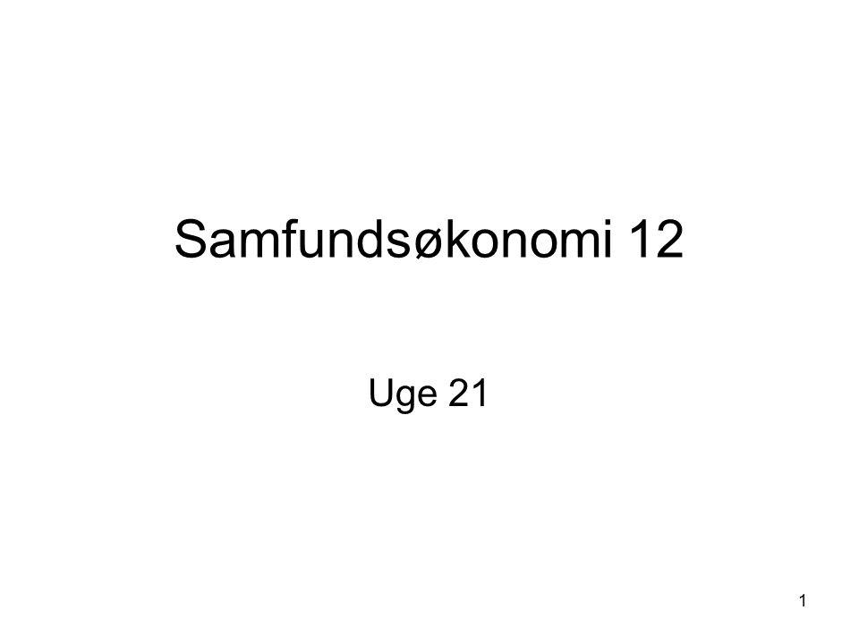 Samfundsøkonomi 12 Uge 21