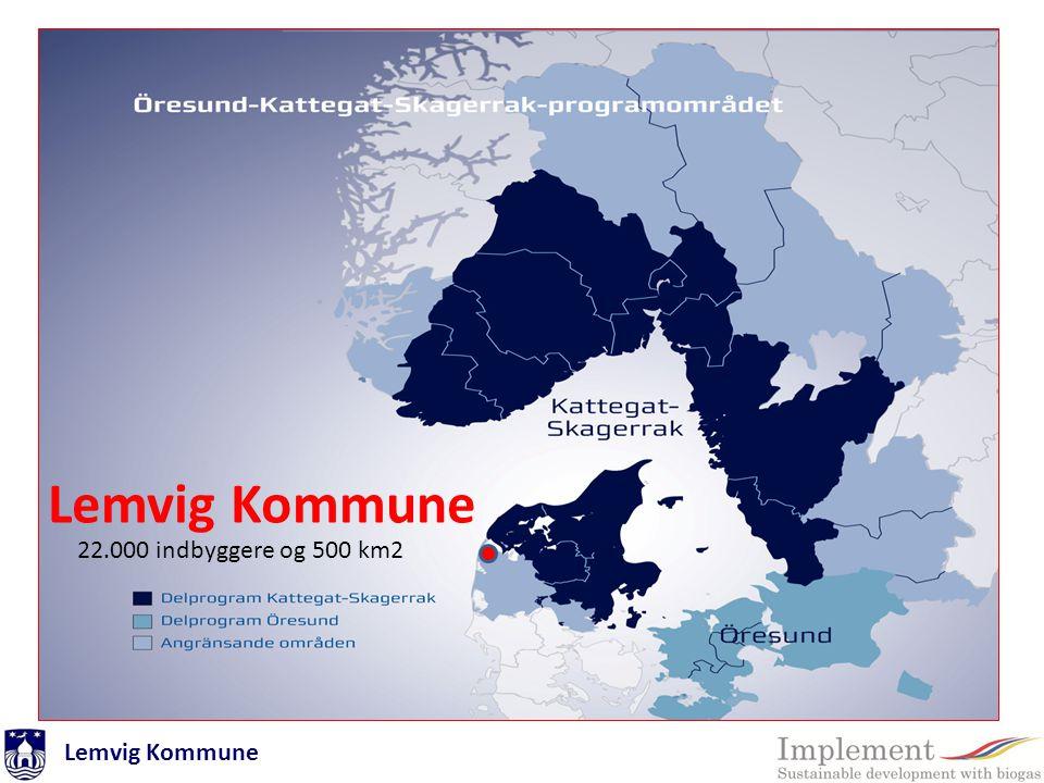 Lemvig Kommune Programområde 22.000 indbyggere og 500 km2