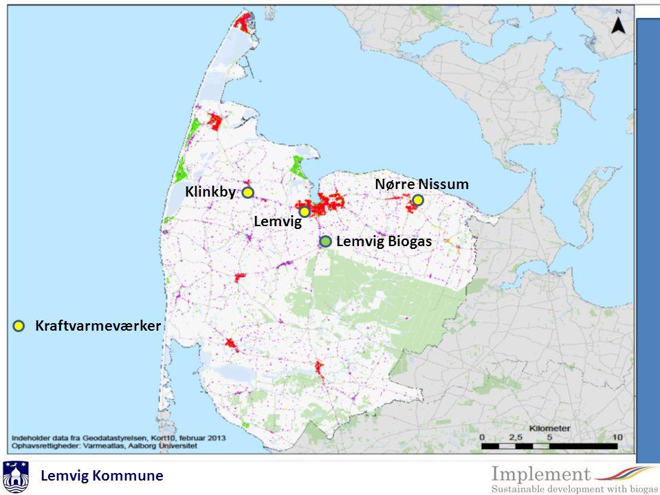 Nørre Nissum Klinkby Lemvig Lemvig Biogas Kraftvarmeværker Lemvig Kommune