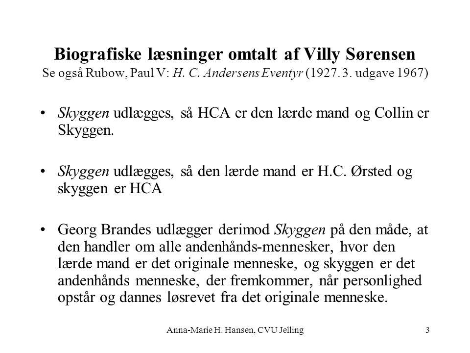 Anna-Marie H. Hansen, CVU Jelling