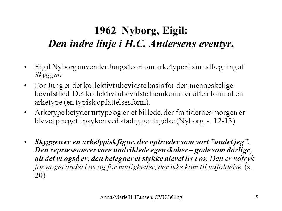 1962 Nyborg, Eigil: Den indre linje i H.C. Andersens eventyr.