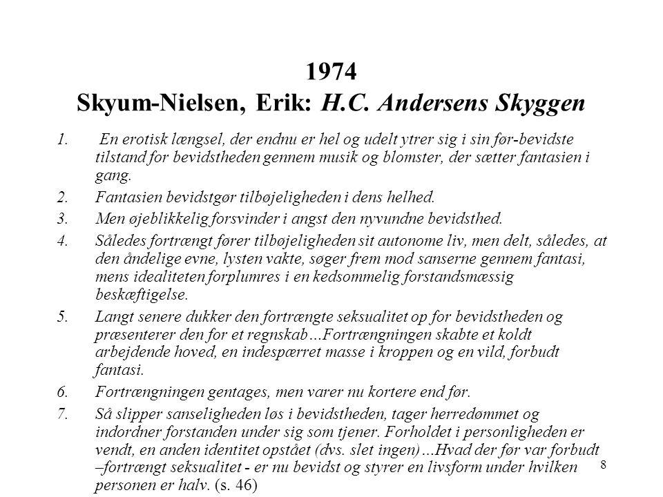 1974 Skyum-Nielsen, Erik: H.C. Andersens Skyggen