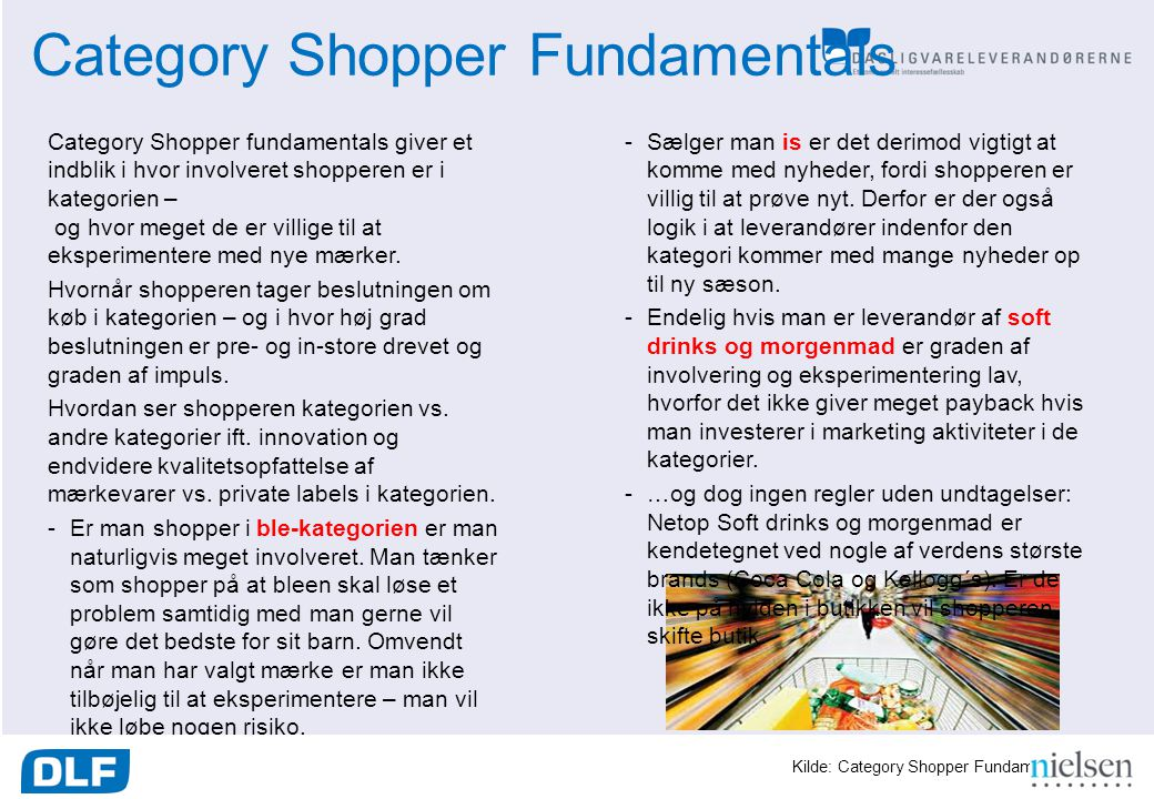 Category Shopper Fundamentals