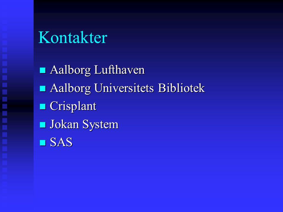 Kontakter Aalborg Lufthaven Aalborg Universitets Bibliotek Crisplant