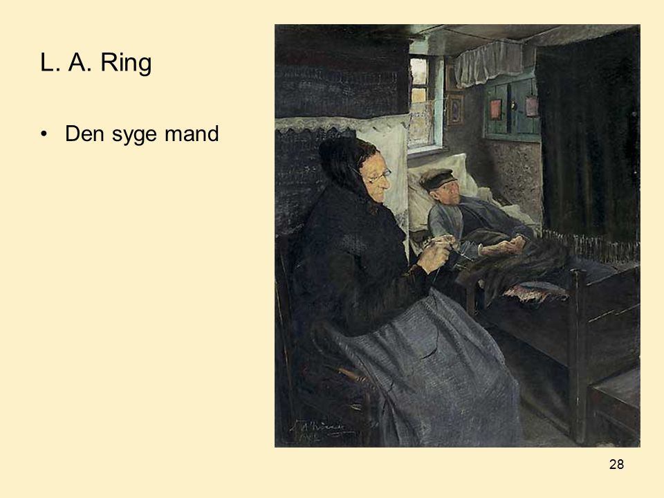 L. A. Ring Den syge mand