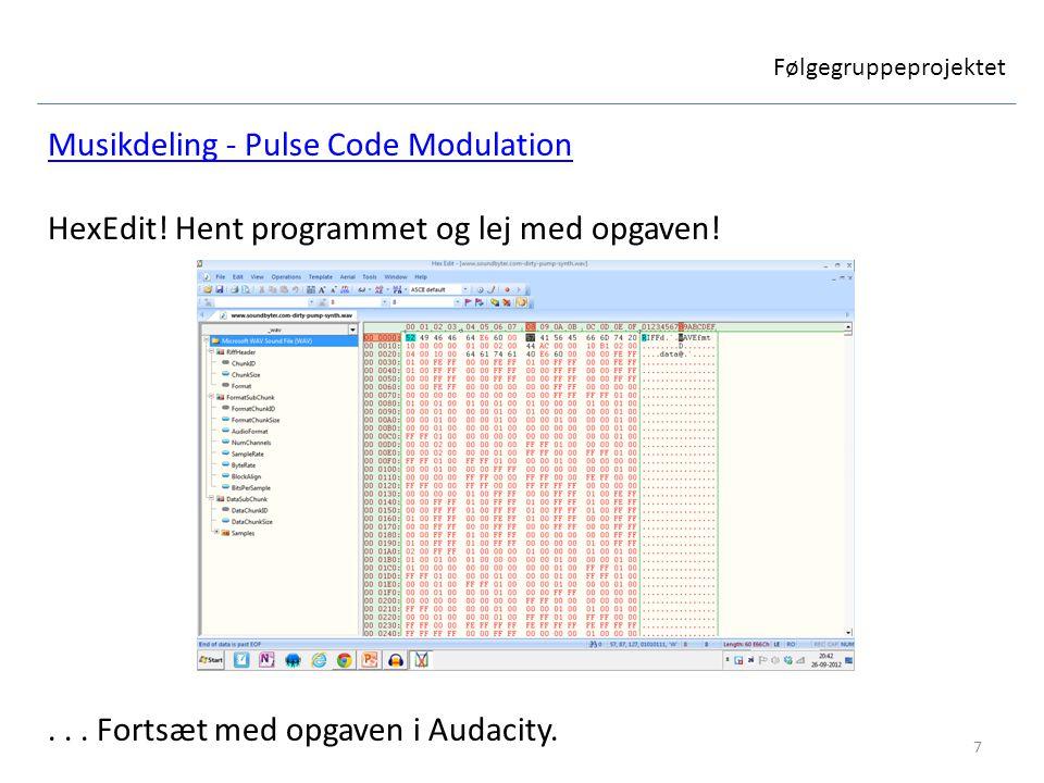 Musikdeling - Pulse Code Modulation