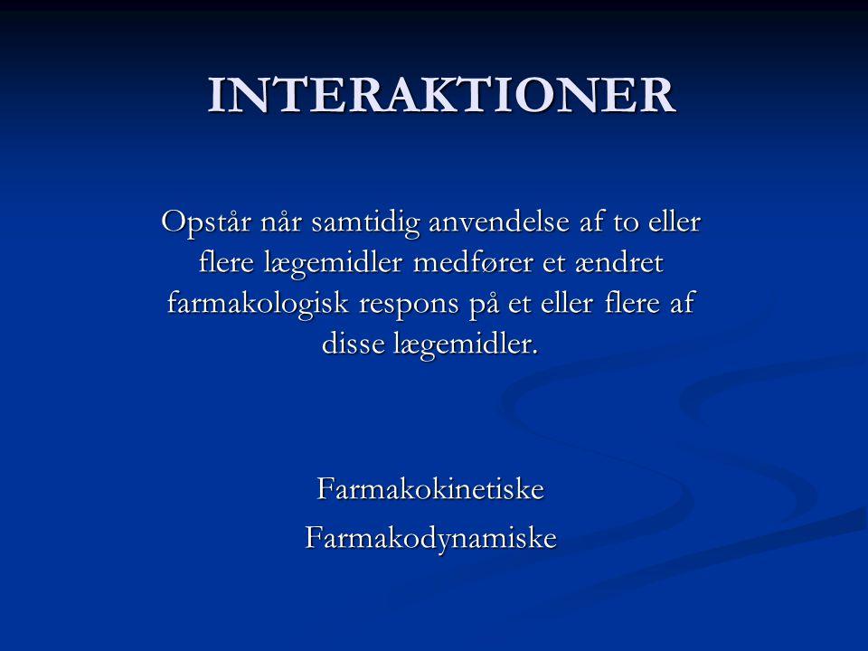 INTERAKTIONER