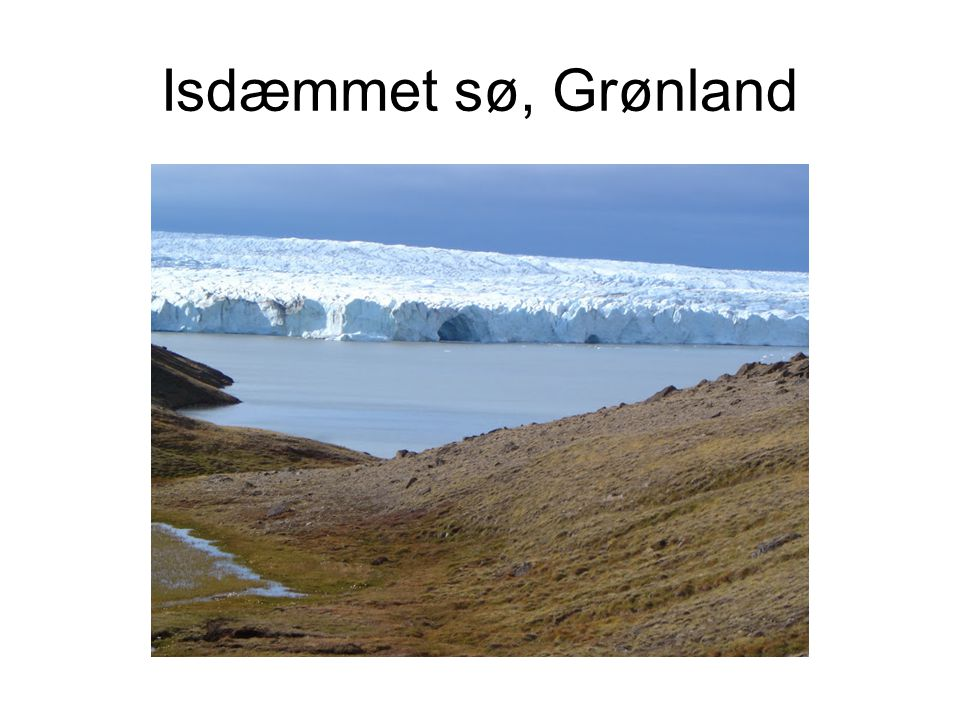 Isdæmmet sø, Grønland
