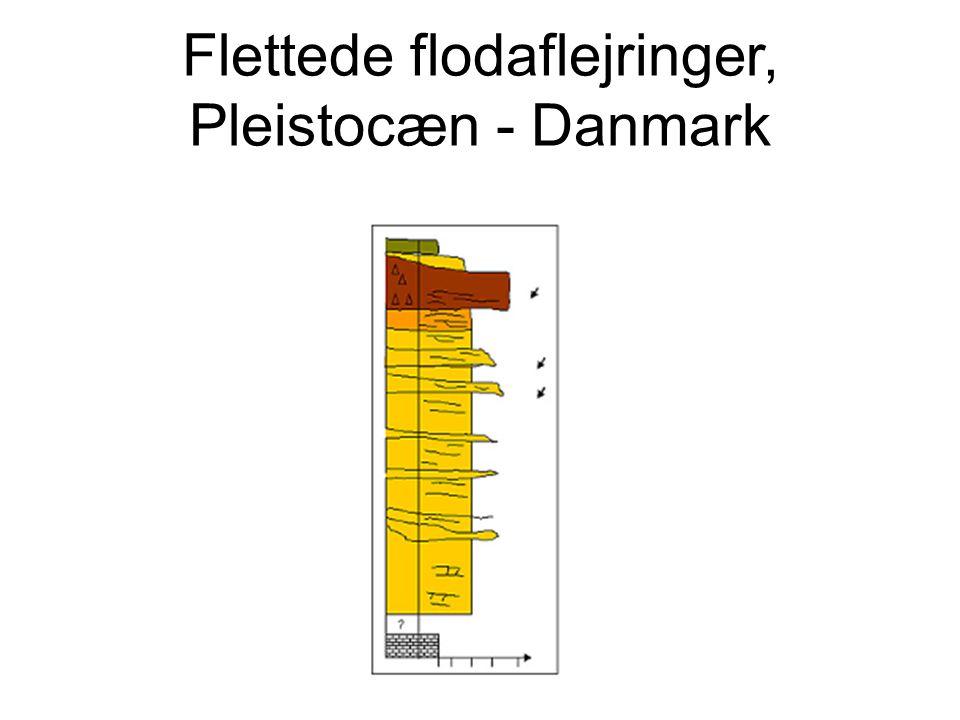 Flettede flodaflejringer, Pleistocæn - Danmark