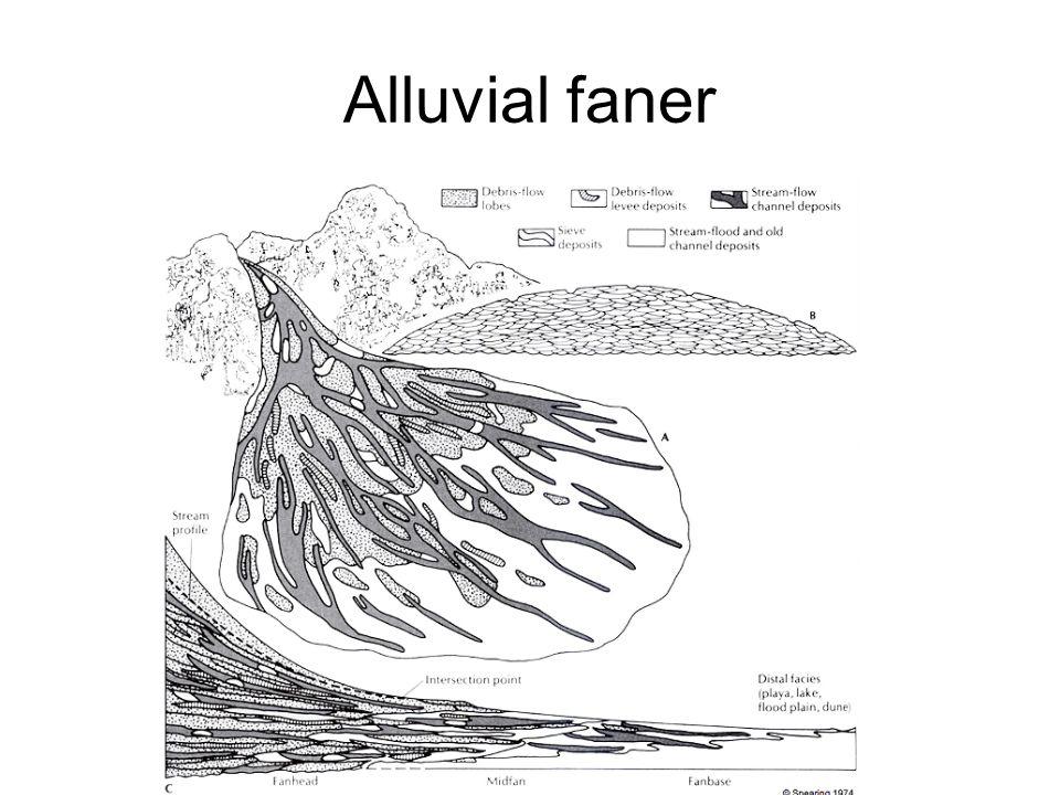 Alluvial faner