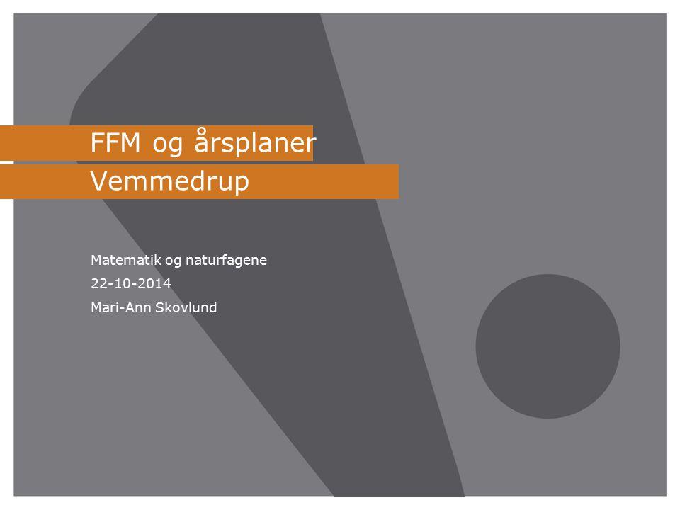 FFM og årsplaner Vemmedrup